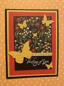 Stampin Up Flower & Field Thinking Of You Card Kit