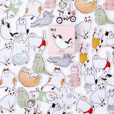 45Pcs/box lovely fat cat stickers scrapbooking diary DIY notebook decor _S