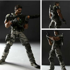 Play Arts Kai Resident Evil 5 Biohazard 5 Chris Redfield Action Figure Figurine