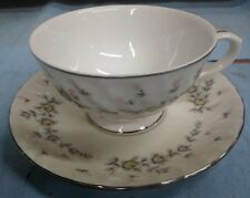Style House Fine China PICARDY Coffee/Tea Cup/Saucer Roses/Floral Made in JAPAN