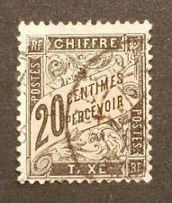 France - Timbre(s) Taxe (O) - Réparé (pièce d'attente) - 5941