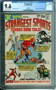DC SPECIAL 7 CGC 9.6 DC Comics 1970 CIRCLE 8 PEDIGREE STRANGEST SPORTS STORIES