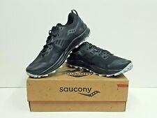 saucony PEREGRINE 10 Men's TRAIL Running Shoes Size 8.5 (Black/Red) NEW