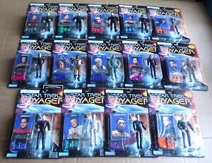 MULTI-LIST SELECTION OF PLAYMATES STAR TREK VOYAGER ACTION FIGURES NEW/UNOPENED