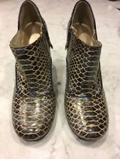ROCKPORT adiPRENE by adidas Snake Ankle Bootie Heels Presia Zip Sz11
