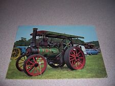 1923 ANTIQUE WALLIS & STEEVENS TRACTION ENGINE TRACTOR POSTCARD