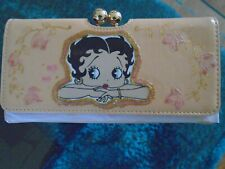 """NEW GORGEOUS PINK """"BETTY BOOP """"PICTURE PURSE/WALLET"""