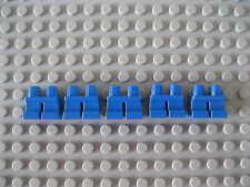 Five Blue Lego Short Children Mini Lower Body Parts/ Legs/ Trousers Brand New