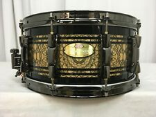 "Pearl Masterworks Custom 14"" Dia. X 6.5"" Deep Snare Drum/""Cain""/NEW"