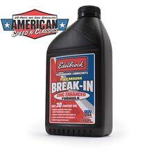 Edelbrock Zinc lavement huiles de vidange - 30 W 0,96 L Premium Break-dans oil