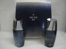 TRUE STAR TOMMY HILFIGER 3.4 oz 100ml EAU DE TOILETTE SPRAY 3.4 AFTERSHAVE 2 PCS