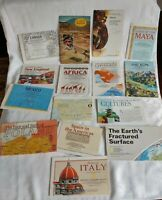 Maps Lot of 15 National Geographic Magazine Maps & Inserts
