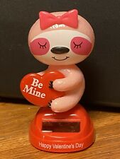 Solar Powered Dancing Bobblehead Toy New For 2021 Valentine's Day  - Sloth