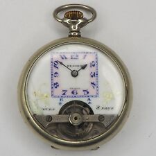 Nesora 8 Tage Taschenuhr um 1900 Schweiz  - ø 49,5 mm - ca. 89,9 g