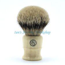 FS 26MM Extra Density Silvertip Badger Hair Shaving Brush Chubby Handle 50MM LOF