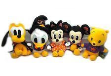 Disney Happy Halloween Series Collection Mini Plush Doll Key Chain 5 Set