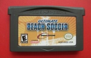 Ultimate Beach Soccer Nintendo Game Boy Advance *Authentic & Saves*  Harder Find