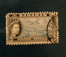 Bahamas - 1954 Queen Elizabeth II - Without Inscription - 6d - Oblitéré