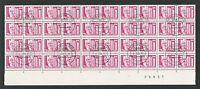 DDR ROLLENMARKEN 1869 v R UNZERTRENNTES BOGENTEIL !! 8 x 5er Streifen z1575