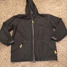 Misty Harbor Gray Hooded Raincoat Coat Jacket. Size XL EXCELLENT