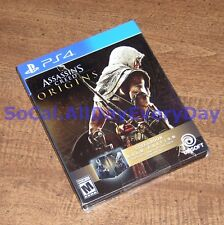 Assassin's Creed: Origins GOLD SteelBook Edition w/Deluxe Pack & Season Pass PS4