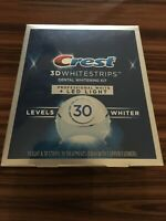 Crest 3D PROFESSIONAL WHITE LED LIGHT Whitestrips 19 Treatments 11/22 #1967