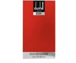 Dunhill Desire Red For Men Eau de Toilette 100ml Spray Authentic Boxed Sealed