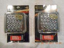Square Double Face LED Pearl Light / Kenworth Style