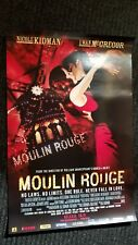 Moulin Rouge movie poster , Nicole Kidman, Ewan McGregor