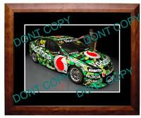 CRAIG LOWNDES ARMY HOLDEN MOTOR RACING SUPERCAR LARGE A3 PHOTO