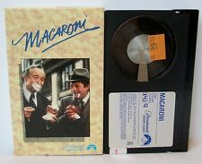 MACARONI BETA BETAMAX VIDEO CASSETTE TAPE, Jack Lemmon