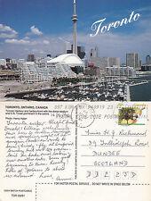 1994 HARBOUR FRONT TORONTO ONTARIO CANADA COLOUR POSTCARD
