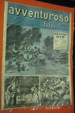 AVVENTUROSO FILM anno 1° n°3 -originale DEL 1949 MONDADORI  DI LUCIANO PEDROCCHI