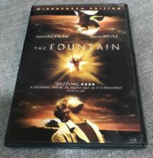 The Fountain (DVD, 2007, Widescreen), Hugh Jackman, Rachel Weisz, Free Shipping