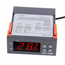 Digital STC-1000 All-Purpose Temperature Controller Thermostat With Sensor #A