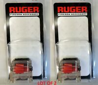 Lot of 2 - Ruger 10/22 22LR Clear 10rd Magazine 90223 10 Round Mag BX1CLR OEM