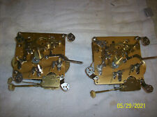 (2) Franz Hermle 351-023 / 29cm Movements for parts or repair and use