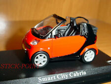 SMART CITY CABRIO RED 1:43 MINT CONDITION!!! RARE!!!