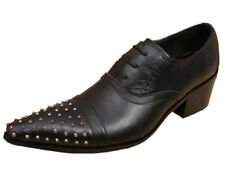 Standard (D) Width 100% Leather Pointed Formal Shoes for Men