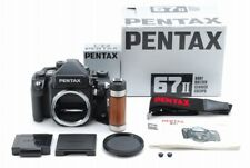 [Almost Unused Top Mint In Box ]Pentax 67 II film Camera w/AE Finder,Grip Japan