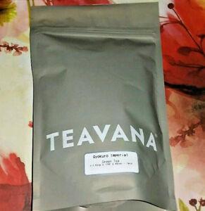 🎅🎄🎅 NEW!! FRESH!! SEALED 2OZ TEAVANA GYOKURO IMPERIAL GREEN TEA MATCHA! 😊☕💚