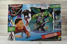Marvel Spiderman Miles Morales Into The Spider-Verse Super Collider Playset Toy