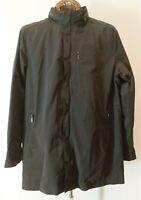 TUMI T-TECH Men's Lightweight Hooded Long Jacket 2 in 1 Black Size L