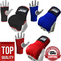 Everox Gel Padded Inner Gloves with Hand Wraps MMA Muay Thai Boxing Fight PAIR