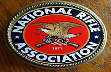 NRA - National Rifle Association  EpoxyPhoto  Buckle -NEW