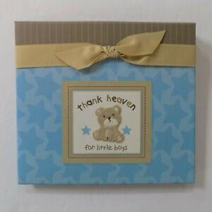 Child of Mine Baby's First Brag Book Photo Album Thank Heaven for Little Boys
