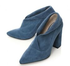 Moda In Pelle CIMMIE Teal Suede Boots, UK 6/EU 39