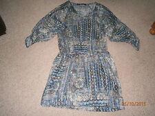 Zara Polyester 3/4 Sleeve Casual Dresses for Women