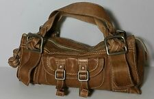 Fossil Barrel Satchel Leather Doctors Bag Brown What Vintage Are You Handbag