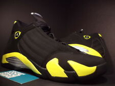 Nike Air Jordan XIV 14 Retro THUNDER BLACK YELLOW WHITE SILVER 487471-070 DS 13